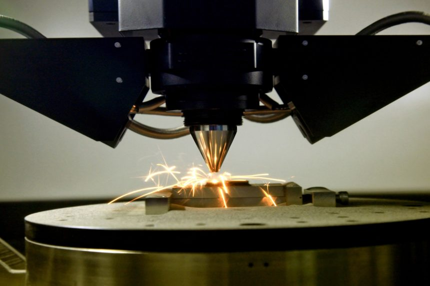 3D printer for metal